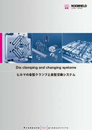 ヒルマの金型クランプと金型交換システム